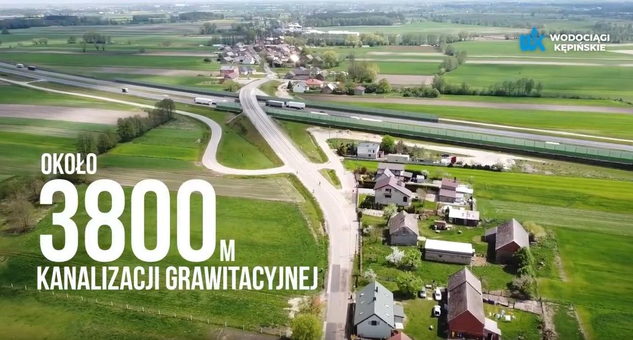 Inwestycje w miejscowości Szklarka Mielęcka i Borek Mielęcki